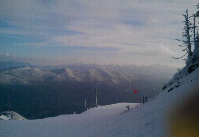 was there mid week,what an awsome mountian,great conditions.top to bottom runs are a blast.