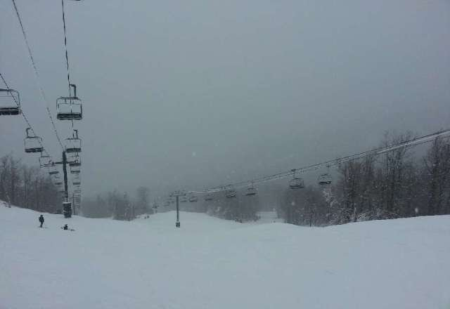 I was at Windham today.  Descent powder.  Some areas need grooming at the summit but overall great time!