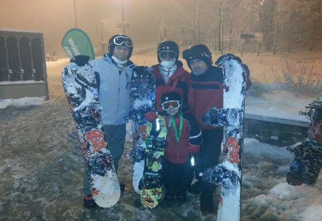had a great time on the 29th 2012. a lot of snow.