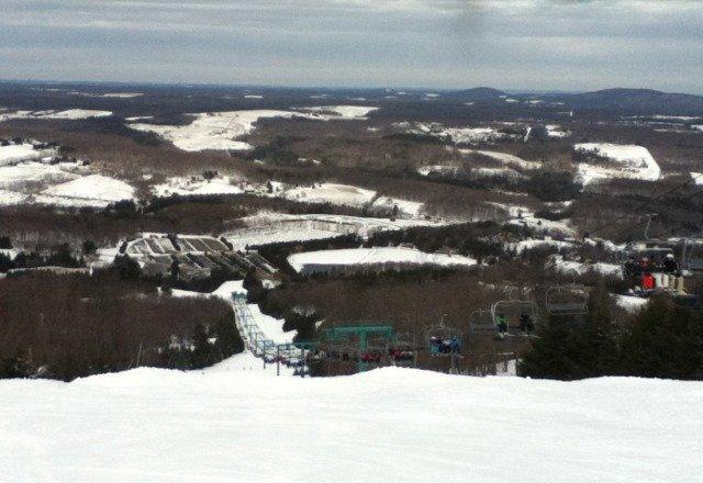 fantastic views, powder runs. amazing day