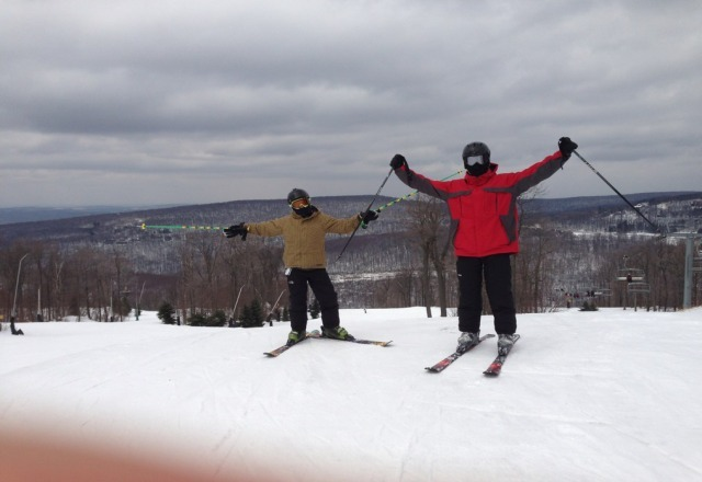 great skiing today.  cant beleive it is this good at the end pf march