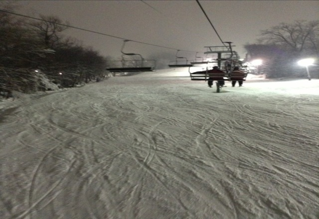 Great snow. Great conditions.