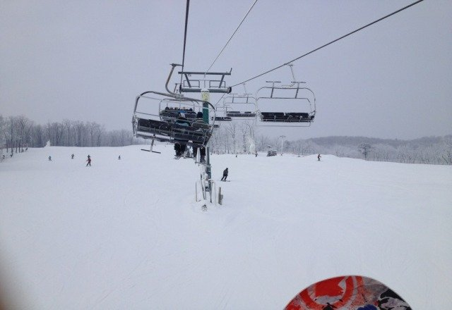 was there 1/26 Saturday... very good conditions, but after lunch the crowd got insane. 30+ min lift lines.