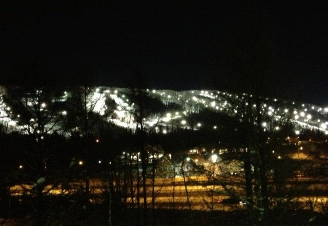 looks good from my condo! tomorrow skiing all day booyaa!