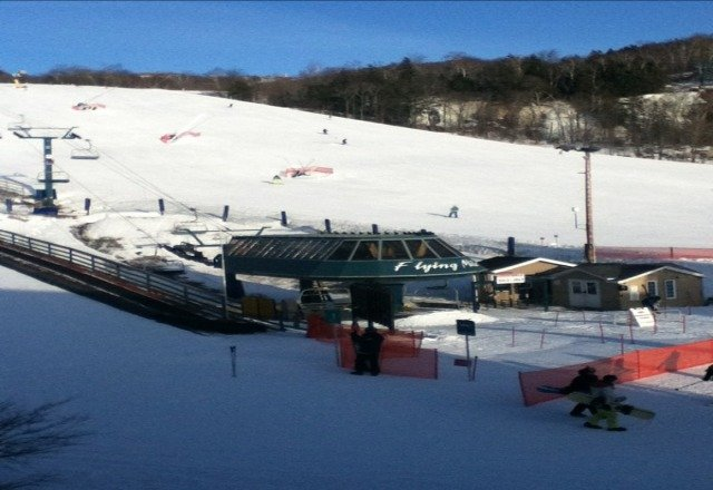just leaving sadly! The runs are now in great shape