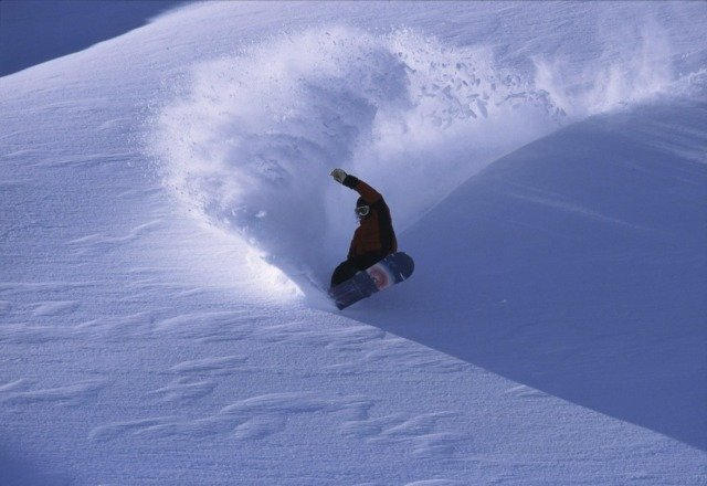 not sure where this was taken, but way more fun than alta