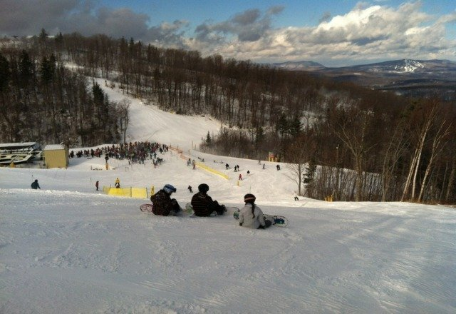 Beautiful day at Stratton!
