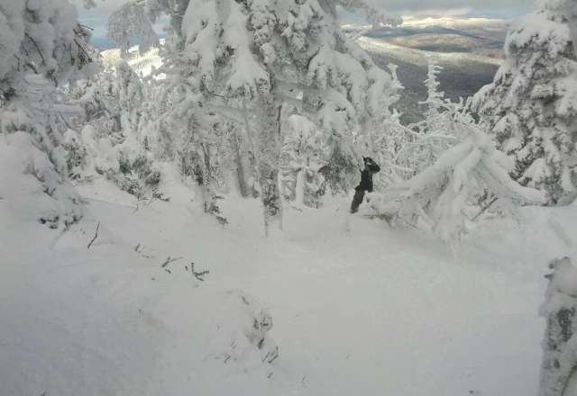Amazing day at an amazing mountain. If you can get a discount ticket it makes it that much better... $94 is a lil steep at full price. Snow was powderlicious in the trees!