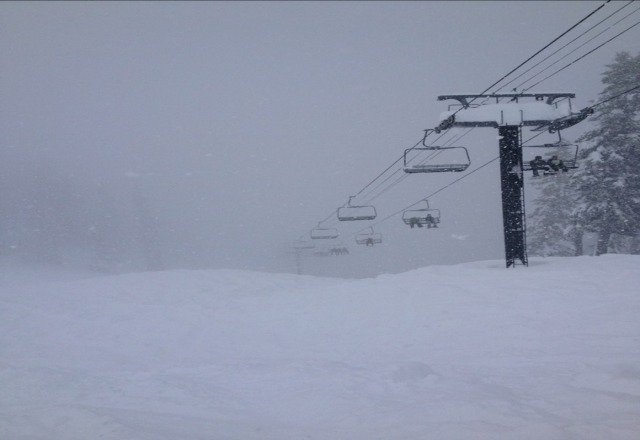 Bring a snorkel! EPIC off chair 6!