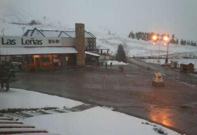 bienvenida esta nevada