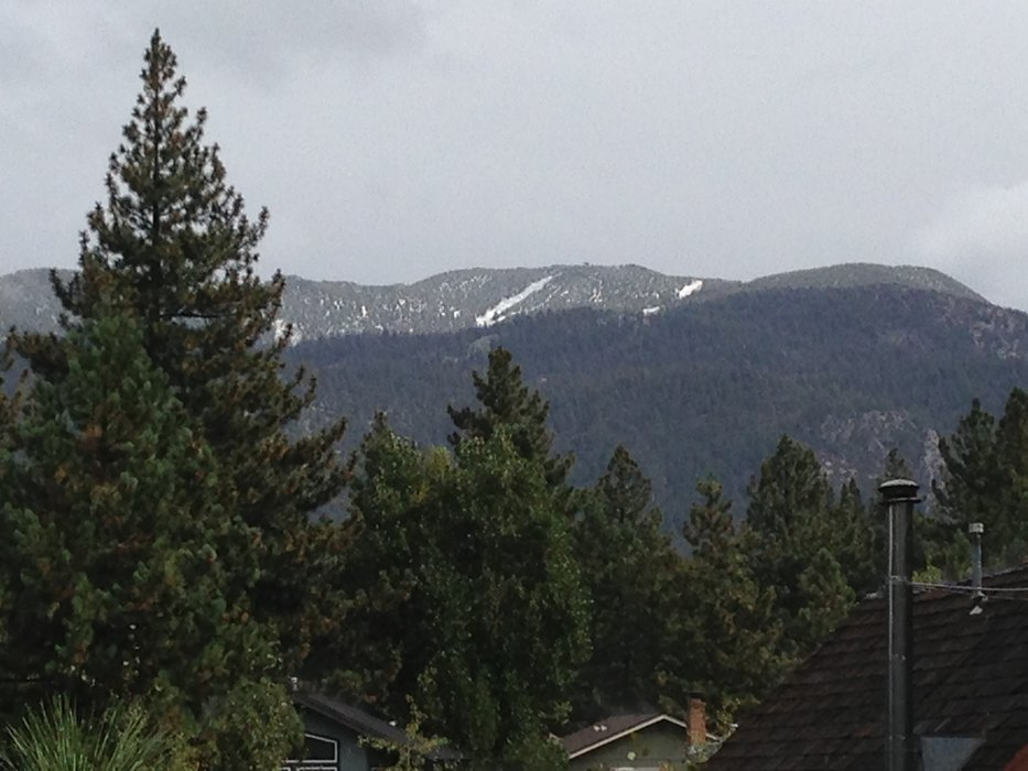 First snow at Heavenly's Sky Express, 9.21.13