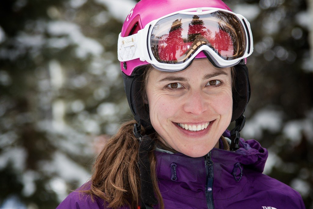 Krista Crabtree: Former ski racer, former SKI Magazine women's ski test director and current OnTheSnow ski test director