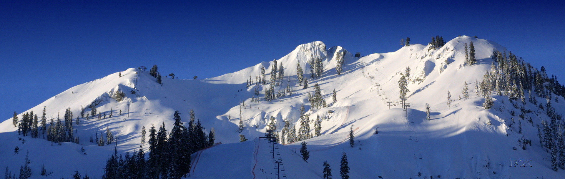 The legendary KT-22 ski lift in Squaw