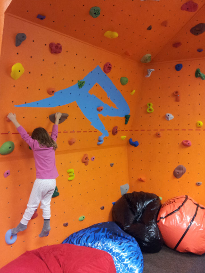 Kids ROC features a climbing wall. Photos courtesy of Reveltoke Mountain Resort