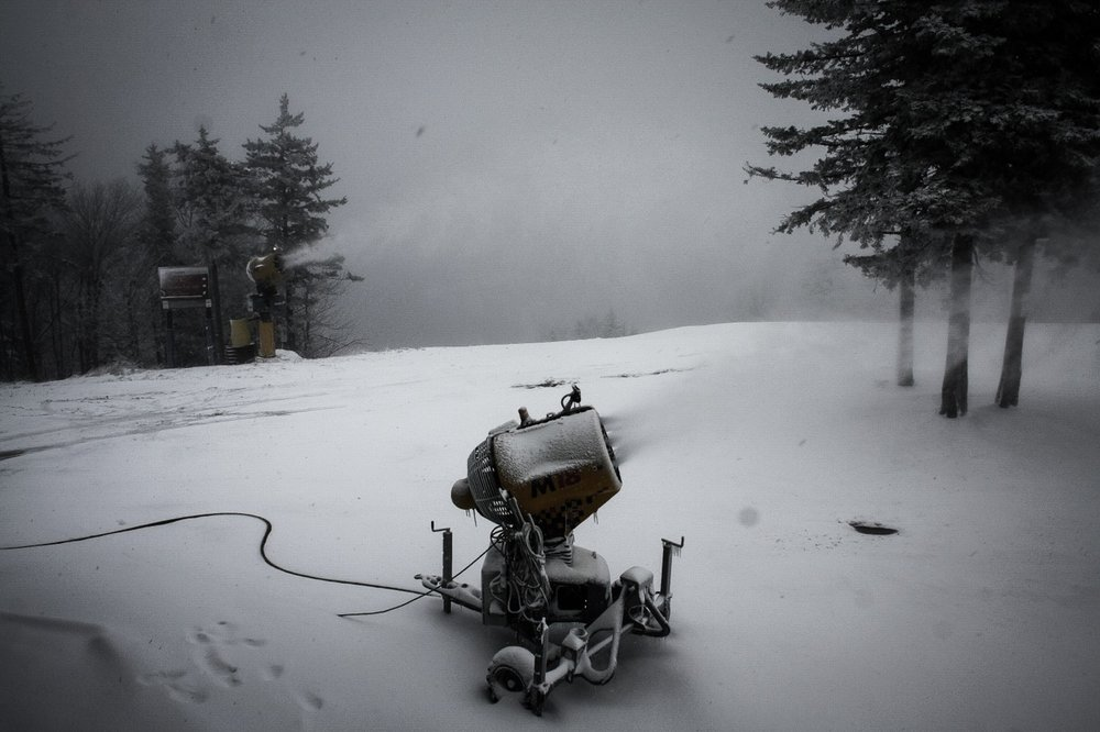 Snow continues to come down at Snowshoe - ©Snowshoe Mountain Resort