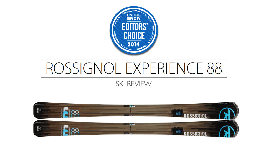 2014 Men's All-Mountain Editors' Choice Ski: Rossignol Experience 88