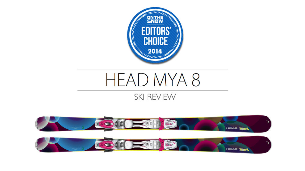 2014 Women Frontside Editor Choice Ski: HEAD MYA 8