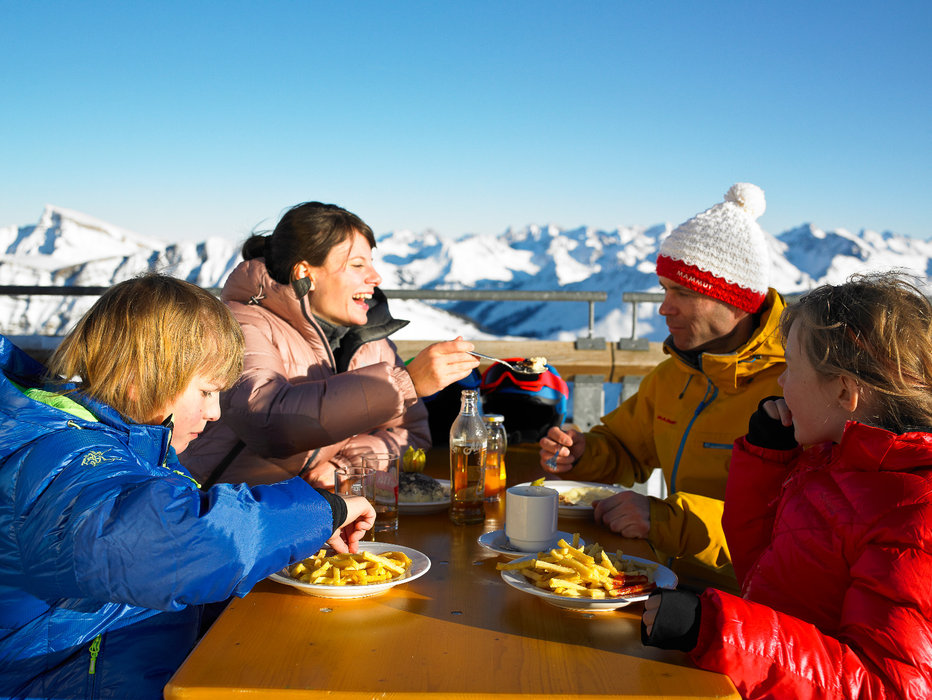 Local ingrediends only at the Panorama Restaurant on the Diedamskopf - one of the establishments in Vorarlberg boasting the