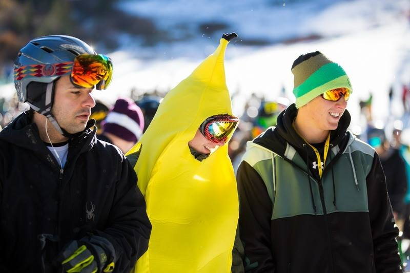 People went bananas for A-Basin opening day