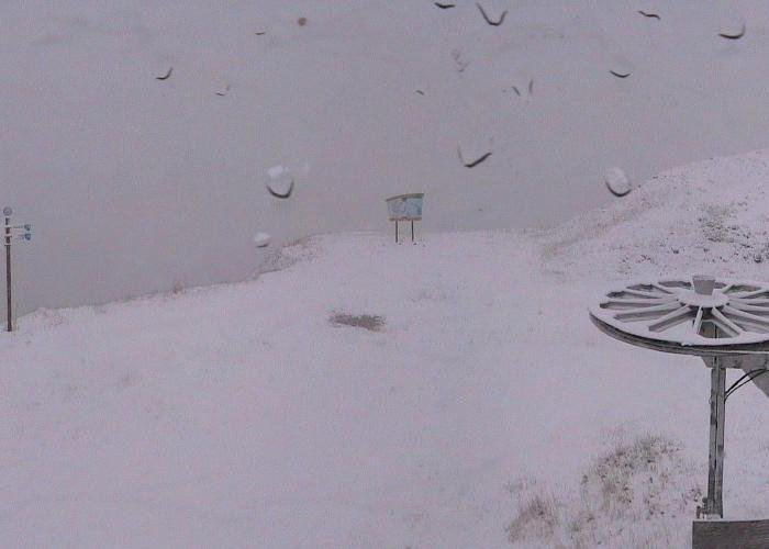 Snow in Grand Bornand Nov. 4, 2013