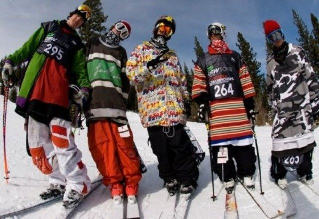 Bringing mad tall t steez to Alta