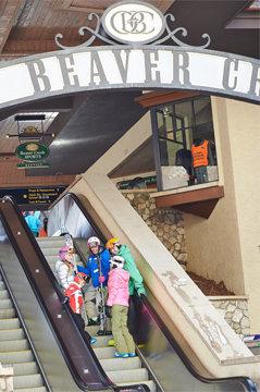Beaver Creek's famed escalators. - ©Jack_Affleck