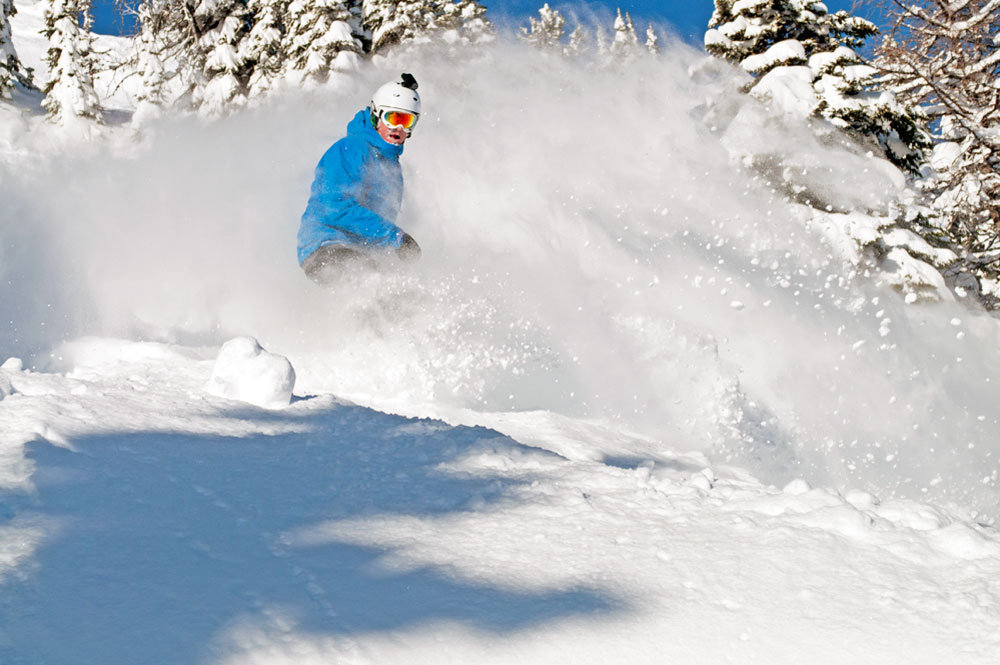 Sunshine Village on March 6, 2012. Photo by Shawn Alain courtesy of Ski Big Three