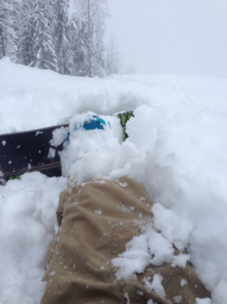 Unreal snow powder central best opening weekend fresh snow both days