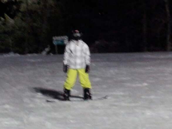 First skiing of season with my son. Great to be back on the mountain.
