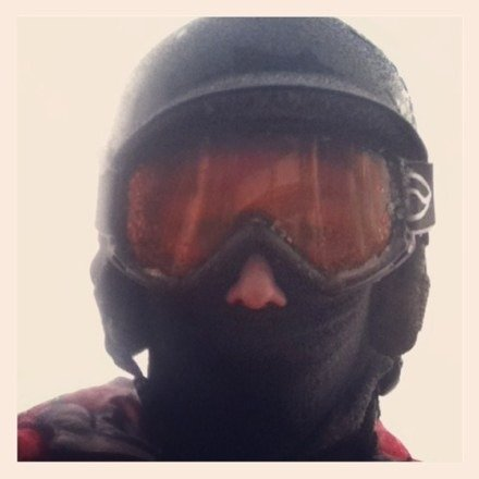 Really great snow today but it was really foggy and ice stormy but other than that it was really nice powder for bogus