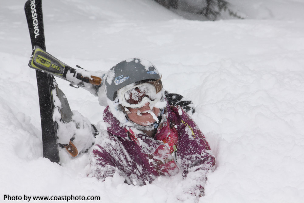 March 2012 brought deep snow to Whistler Blackcomb. Photo by Coastphoto.com