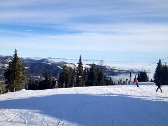 Groomers were really nice today. First time @ 49 North, looking forward to skiing there with good coverage.