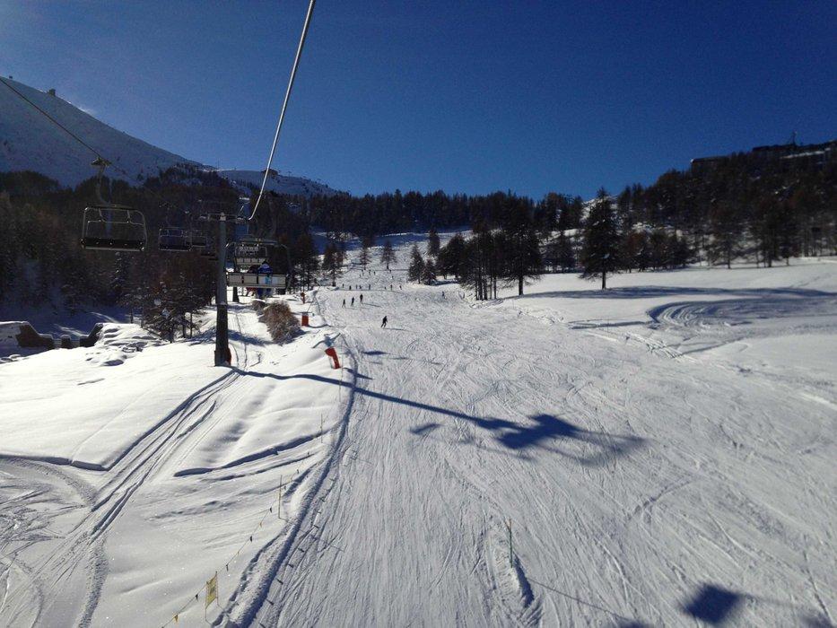 Milky Way ski area Dec. 1, 2013