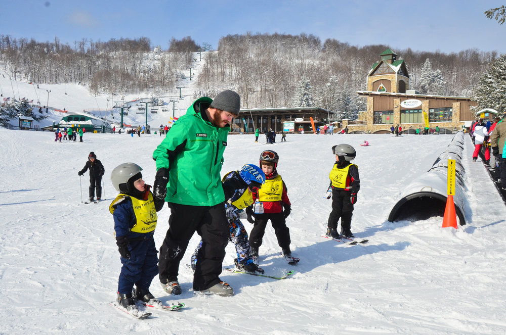 Skiing Seven Springs
