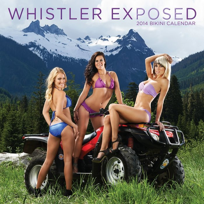 Whistler Exposed Bikini Calendar: Cover