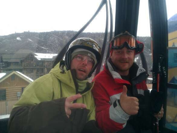 Look at these guys! Shreddin the gnar!