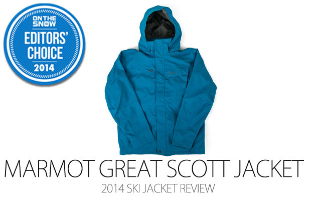 Marmot Great Scott Jacket, 2014 Editors Choice Men Ski Jacket - ©Julia Vandenoever