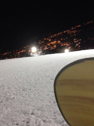 Night Skiing at Steamboat, be aware of the crazy youngsters,but good overall.