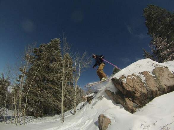 Snows Awesome!!   Rhys, thanks for the shot. hidden stashes at the Rock!