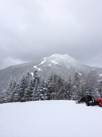 Great day at Jay yesterday, flurries all day and even got some sun in the afternoon. Tons of powder still in the trees and on some trails, the snow was amazing!