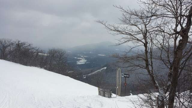 Good conditions all morning.  Some icy spots in the afternoon.  No lift lines all day!
