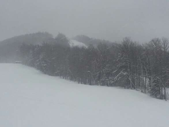 great day at Sunnapee. unbelievable snow,