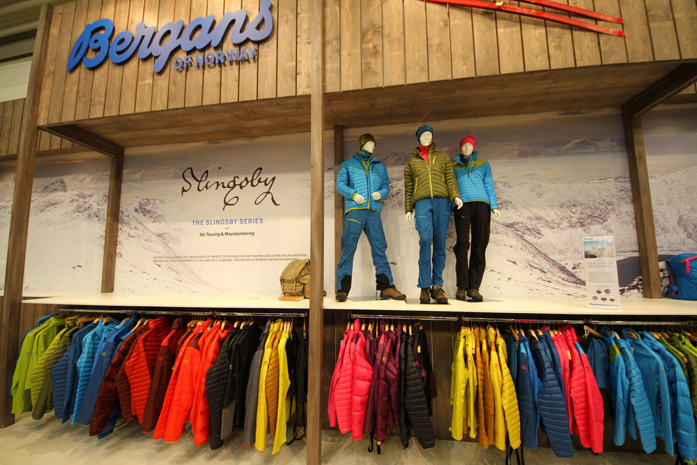 Bergans presents the new Slingsby-Series clothing - ©Skiinfo
