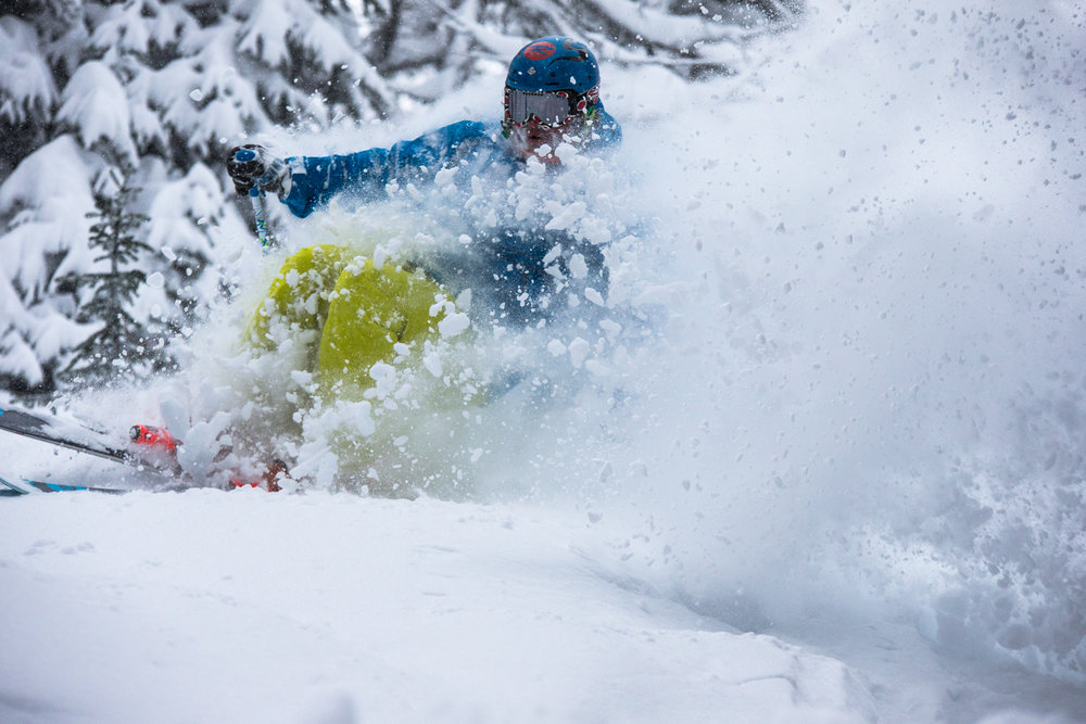 More deep Powder for Casey Bouius.
