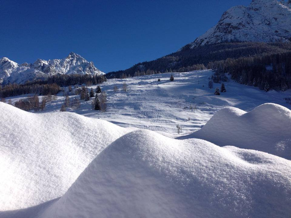 Engadin Jan. 15, 2014 - ©Facebook Engadin Scuol Samnaun