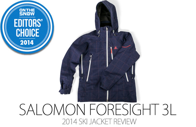 Salomon Foresight 3L Jacket - ©Julia Vandenoever