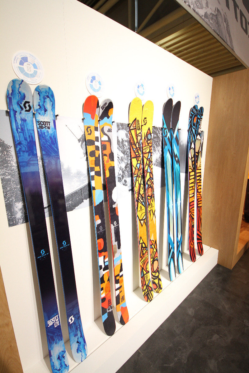 Scott skis for winter 2014/15 - ©Skiinfo