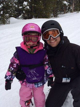 Mazie's first ski adventure!