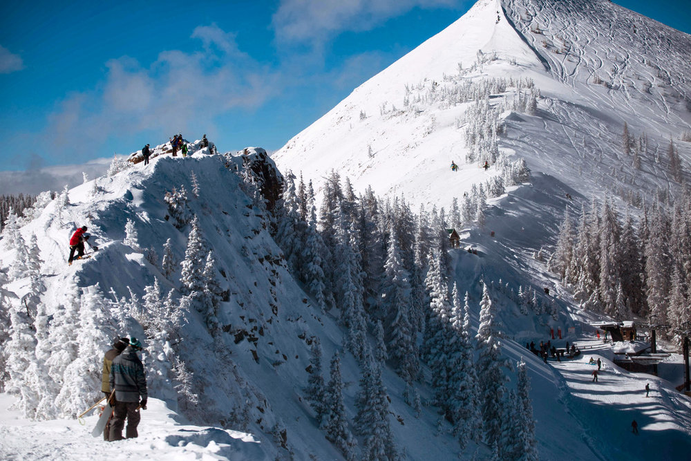 Hiking the Knife Ridge at Wolf Creek Resort. - ©Courtesy of Wolf Creek Resort