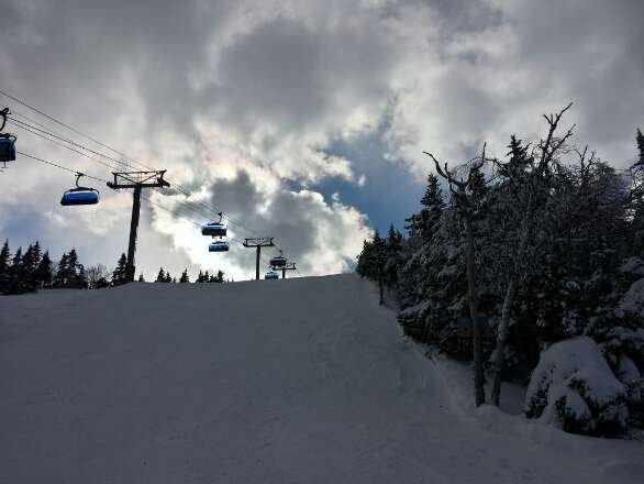 Little late but skiid with some friends from work last Wednesday and conditions were amazing!
